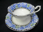 Queens china Elizabeth Rose cup & saucer